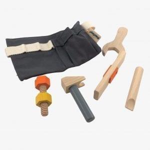 Plan Toys Wooden Tool Belt Toy