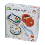Tender Leaf Toys Pots and Pans Wooden Play set