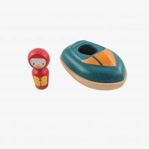 Speed Boat Bath Toy – Plan Toys