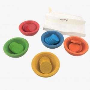 Plan Toys Sort and Count Cups - Sorting Toys