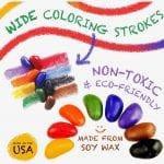 Crayon Rocks Thirty Two – 32 Crayon Rocks in a Muslin Bag