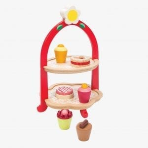 Tender Leaf Toys Afternoon Tea Stand