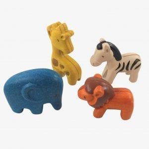 plan toys wild animals