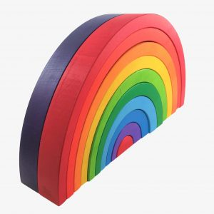 bajo large rainbow
