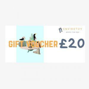 envirotoy gift voucher £20