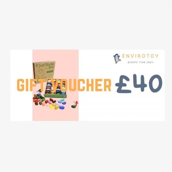 Envirotoy Gift voucher £40