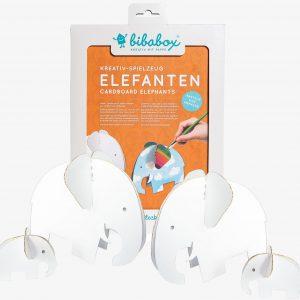 Bibabox 3D Card Elephants