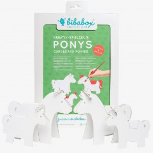 Bibabox 3D Card Ponies