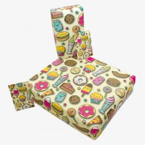 Re-Wrapped Child Sweets Wrapping Paper