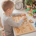Stuka Puka Dinosaurs Wooden Puzzle