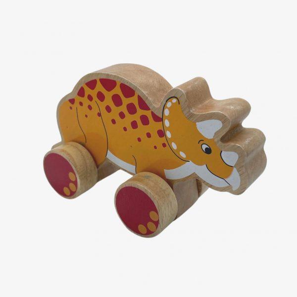 triceratops toy - lanka kade push along