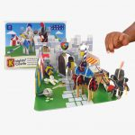 Playpress Knights Castle Pop Out Playset