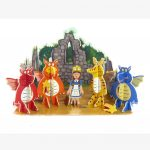 Playpress Zog Pop Out Playset